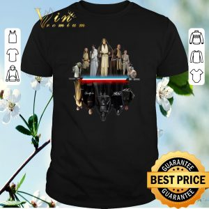 Top all signature autographed Characters Star Wars shirt sweater