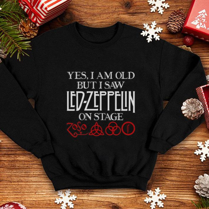 Yes i am old but i saw Led Zeppelin on stage Zoso Symbol shirt 4 - Yes i am old but i saw Led Zeppelin on stage Zoso Symbol shirt