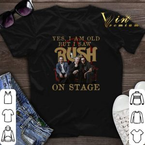 Yes i am old but i saw Rush band on stage shirt sweater