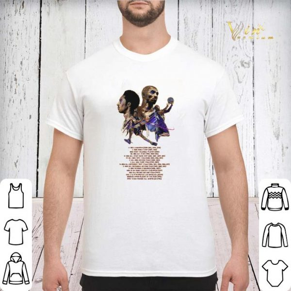 24 Kobe Bryant Basketball Tournament Legends Los Angeles Lakers shirt sweater