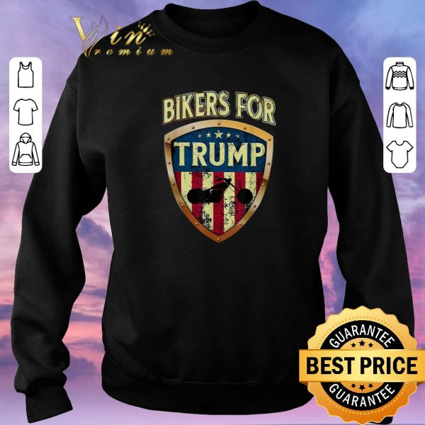 Awesome Bikers for Trump Motorcycle 2020 shirt sweater