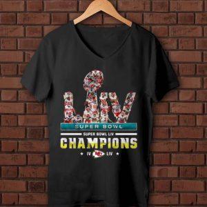 Awesome LIV Super Bowl Champions IV Kansas City Chiefs shirt