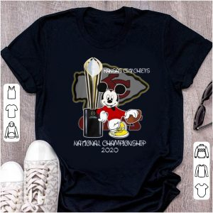 Awesome Mickey Kansas City Chiefs National Champions 2020 shirt