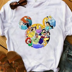 Awesome Mickey Mouse All Princess Walt Disney shirt