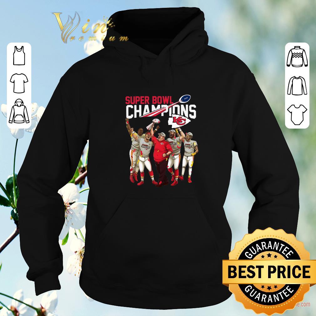 Awesome Super Bowl LIV Champions Kansas City Chiefs shirt sweater 4 - Awesome Super Bowl LIV Champions Kansas City Chiefs shirt sweater
