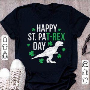 Beautiful Happy St Pat-Rex Day St Patrick PatRex Dinosaur Gift shirt