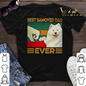 Best Samoyed dad ever vintage shirt sweater