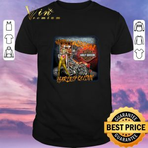 Funny Motor Harley Davidson Cycles Mashup Harley Quinn Birds of Prey shirt sweater