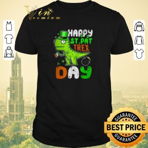 Funny St. Patrick's Day happy St. Pat trex day shirt sweater