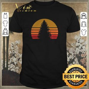 Funny Sunset Rock Tree shirt