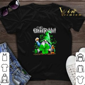 Gnome The Dead Rabbit Irish Whiskey St. Patrick's day shirt sweater