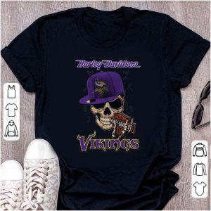 Great Harley Davidson Vikings shirt