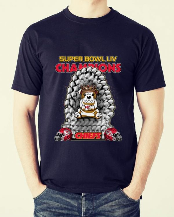 Hot Bulldog Iron Throne Super Bowl Champions Kansas City Chiefs shirt