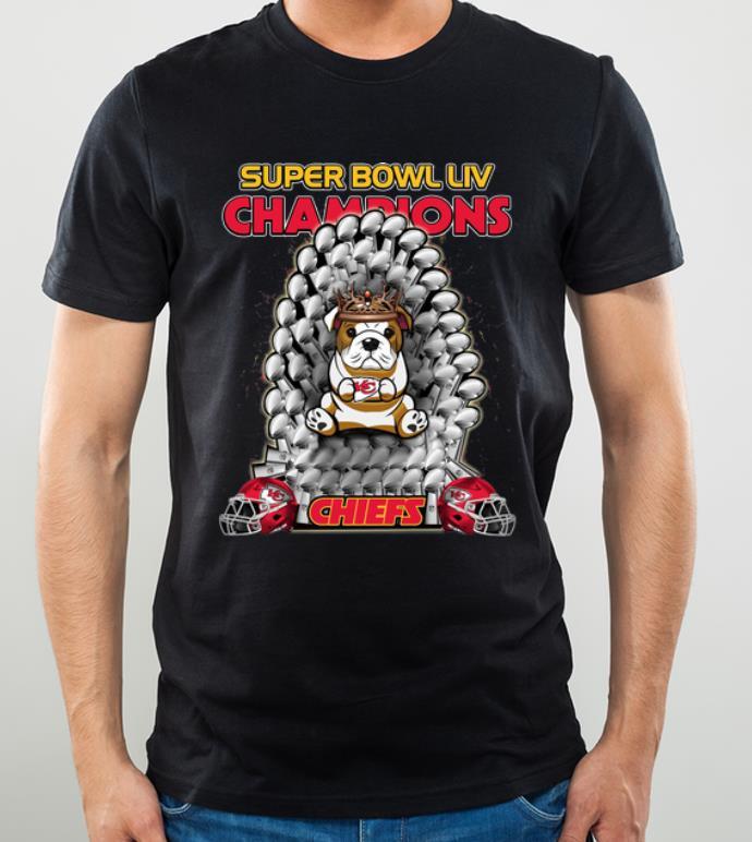 Hot Bulldog Iron Throne Super Bowl Champions Kansas City Chiefs shirt 4 - Hot Bulldog Iron Throne Super Bowl Champions Kansas City Chiefs shirt