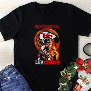 Hot Iron Maiden mashup Super Bowl LIV Kansas City Chiefs Champions shirt