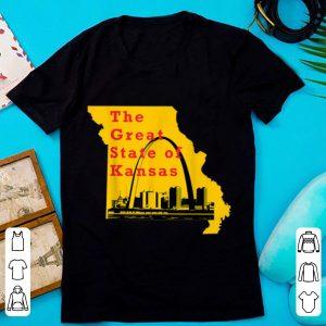 Hot Kansas City Chiefs The Great State Of Kansas Trump shirt