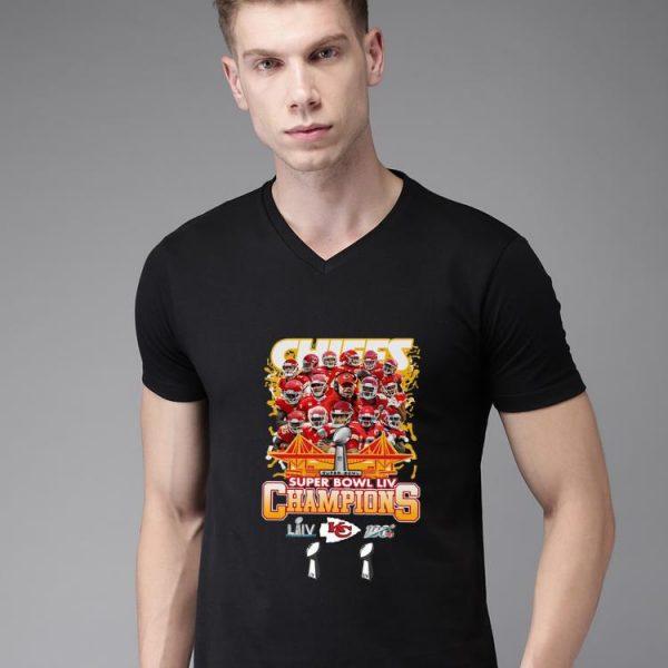 Nice Chiefs Super Bowl LIV Champs shirt