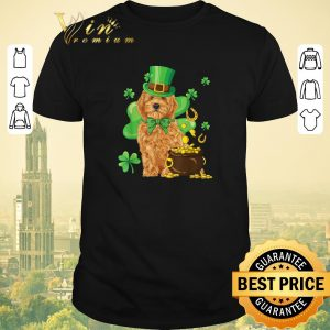 Nice Goldendoodle St. Patrick's Day Shamrock Dog Lover shirt sweater