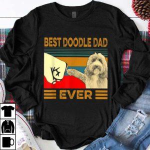 Nice Vintage Best Doodle Dad Ever Dog Lovers shirt