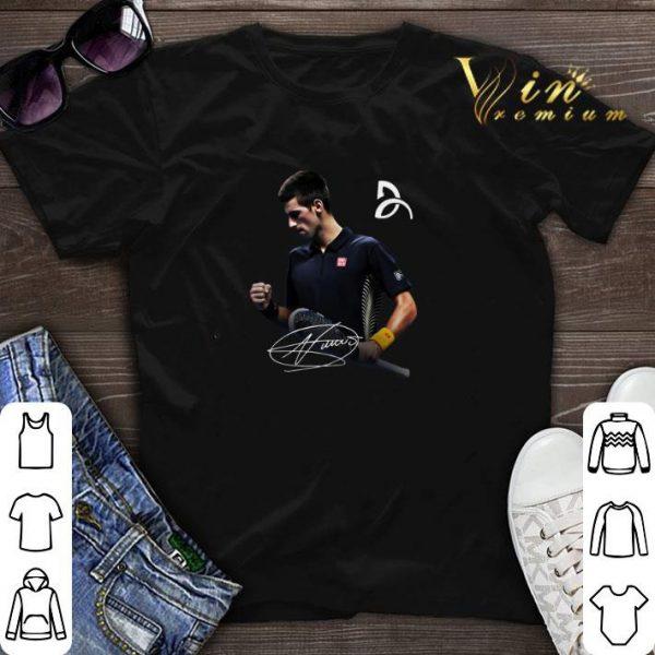 Novak Djokovic symbol logo signature shirt sweater