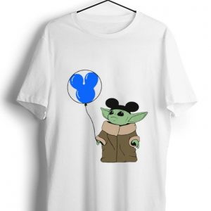 Official Baby Yoda Mickey Mouse shirt