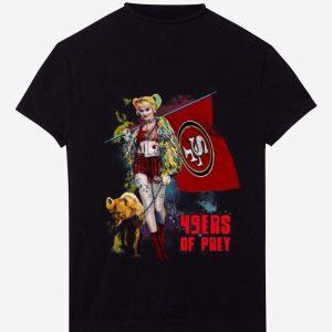 Official Harley Quinn San Francisco 49ers Of Prey shirt