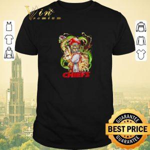 Official Kansas City Chiefs Son Goku Kamehameha Super Bowl Dragon ball shirt sweater