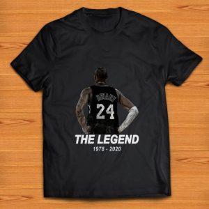 Official Kobe 24 RIP The Legend 1978 2020 shirt