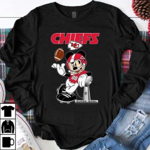 Official Mickey Mouse Kansas City Chiefs Super Bowl Champions shirt