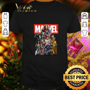 Original Marvel Avengers Woman MCU Signatures shirt
