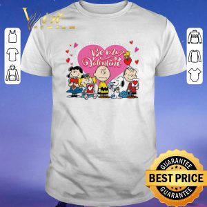 Original Peanuts characters Be my Valentine Snoopy Charlie Brown shirt sweater