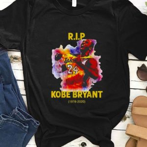 Original Rip Kobe Bryant Lakers 24 1978-2020 shirt