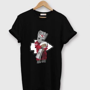 Premium Baby Groot Hug Super Bowl Champions Kansas City Chiefs shirt