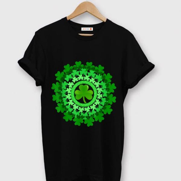 Premium Circle Shamrock Happy St. Patrick's Day shirt