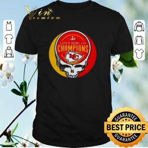 Premium Grateful Dead Mashup Super Bowl LIV Champions Kansas City Chiefs shirt sweater