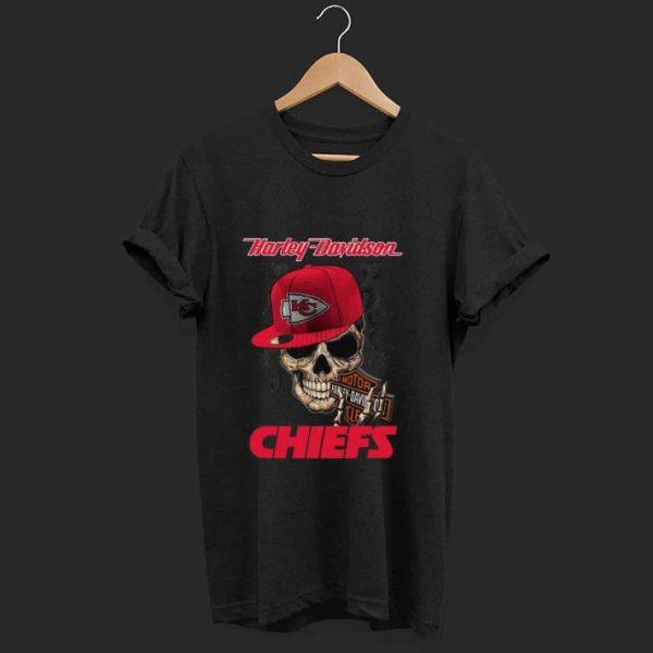 Premium Harley Davidson Chiefs shirt