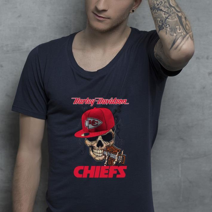 Premium Harley Davidson Chiefs shirt 4 - Premium Harley Davidson Chiefs shirt