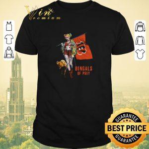Premium Harley Quinn Flag Cincinnati Bengals Of Prey shirt sweater