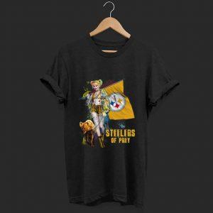 Premium Harley Quinn Pittsburgh Steelers Of Prey shirt