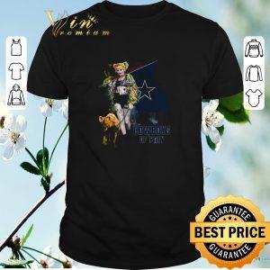 Premium Harley Quinn flag Dallas Cowboys Of Prey shirt sweater