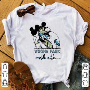 Premium Mickey Mouse Dinosaur Wrong Park shirt