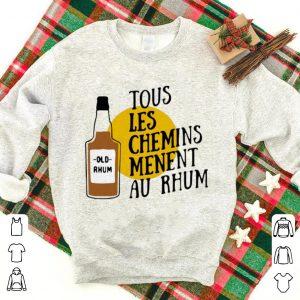 Premium Old Rhum Tous Les Chemins Menent Au Rhum shirt