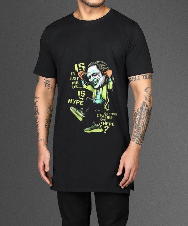 Premium Yeezreel Yeezy 350 Crazy Hype Joker shirt