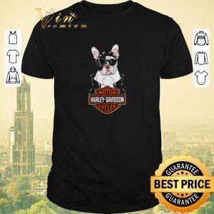 Pretty Boston Terrier mashup Darth Vader Motor Harley Davidson Cycles shirt sweater