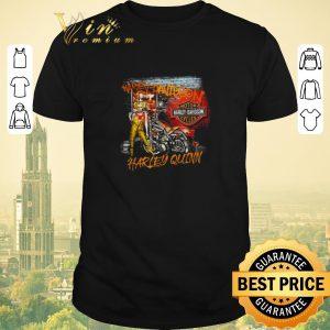 Pretty Harley Quinn Harley Davidson motorcycles shirt sweater