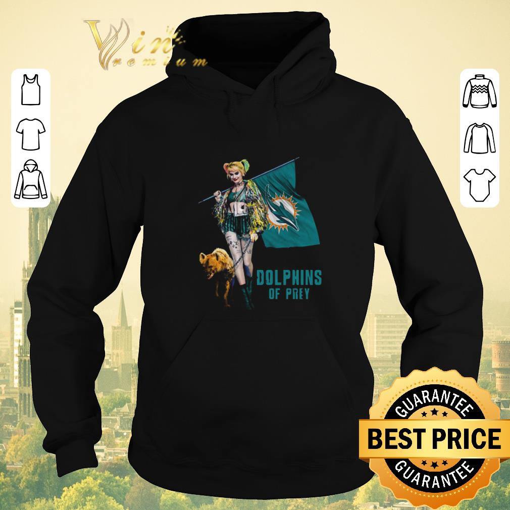 Pretty Harley Quinn Mashup Miami Dolphins Of Prey shirt sweater 4 - Pretty Harley Quinn Mashup Miami Dolphins Of Prey shirt sweater