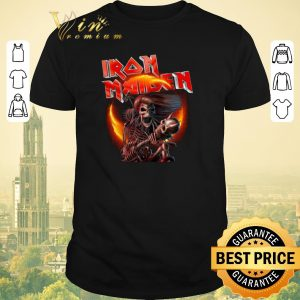 Pretty Iron Maiden Rock Heavy Metal Skeletons shirt