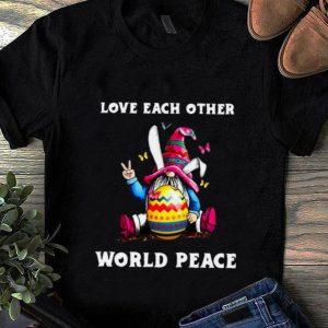 Pretty Love Each Other World Peace shirt