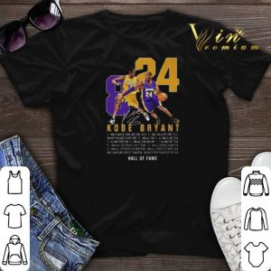 RIP King Kobe Bryant Legend Signature 8 24 Legends Never Die shirt sweater