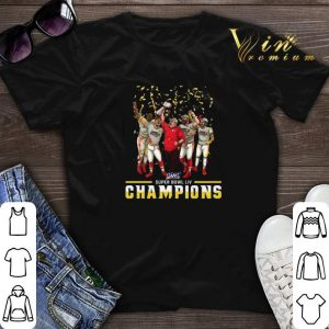 Super Bowl LIV Kansas City Chiefs Champions shirt sweater